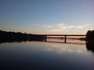 View of the beautiful bridge