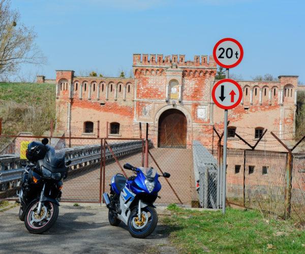 Motorcycle trip to Kazimierz Dolny (Poland)