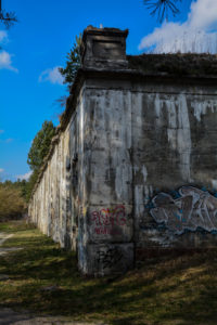 Painted walls – Modlin Fortress