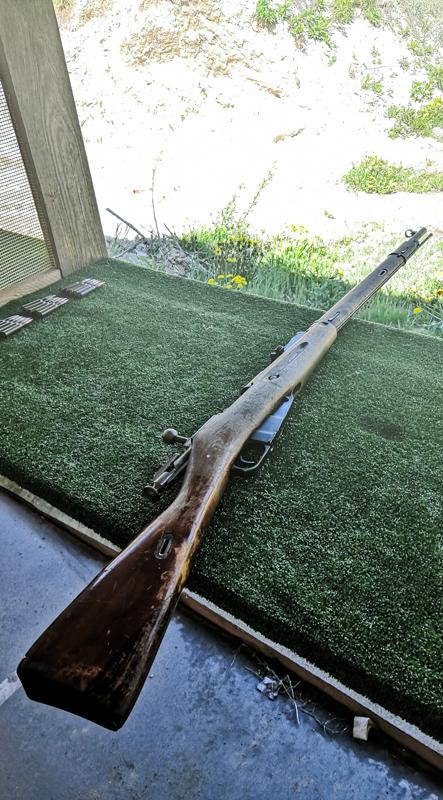 Combat shooting range