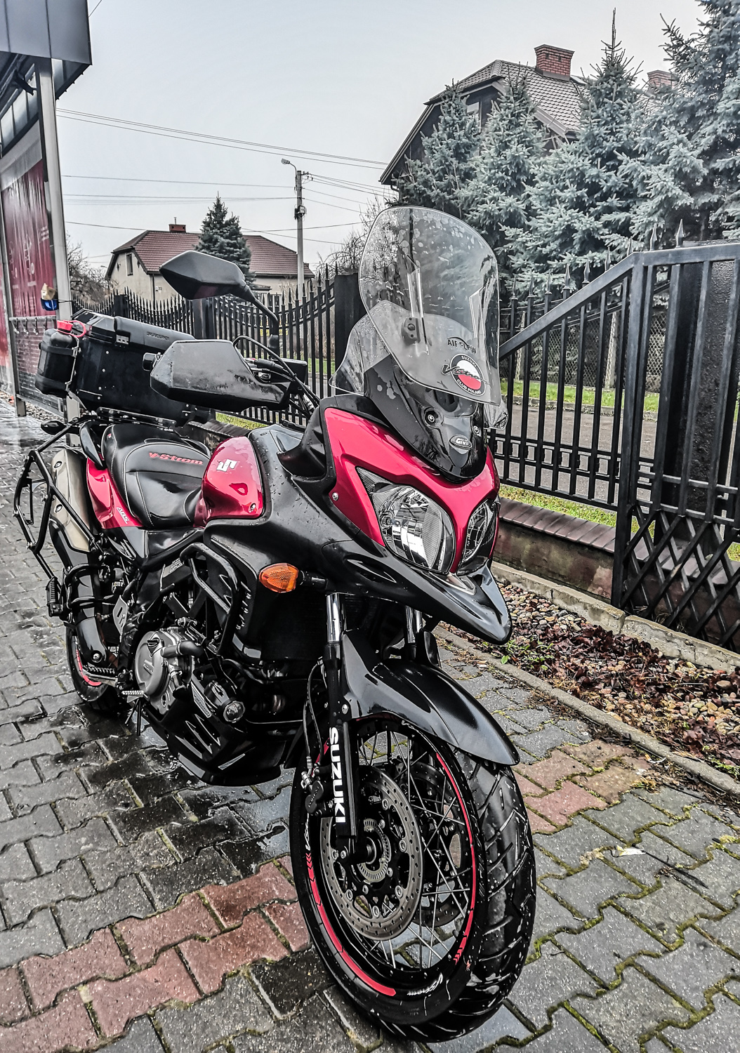 Time to winter the motorcycle
