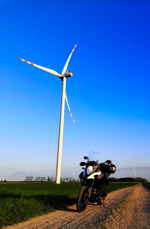 Moto excursion Windmills