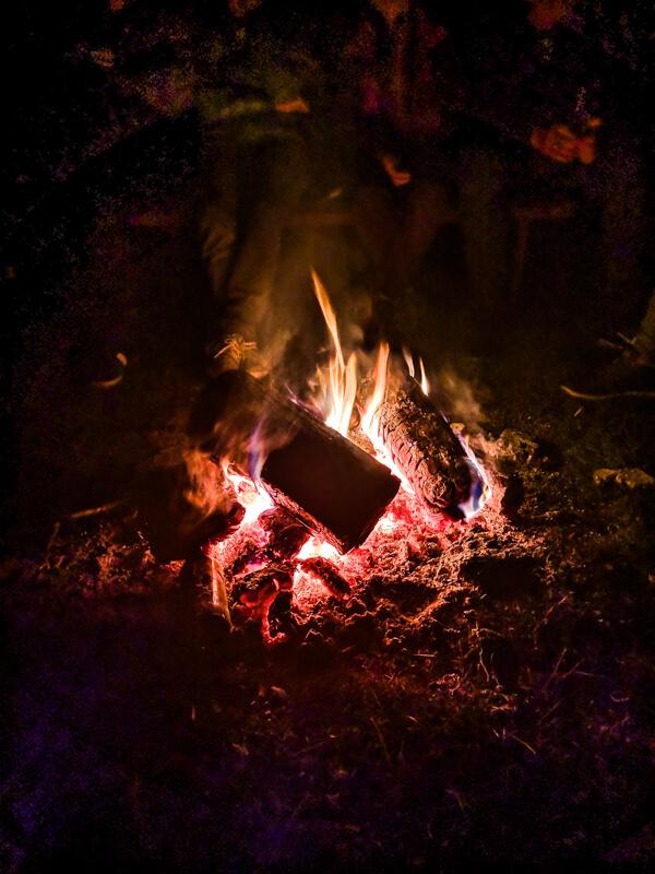 Bieszczady bonfires